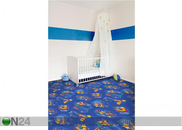 Lastenhuoneen matto WINNIE WOODLAND 100x200 cm AF-59050