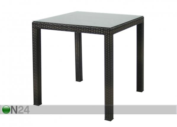 Puutarhapöytä WICKER EV-59387