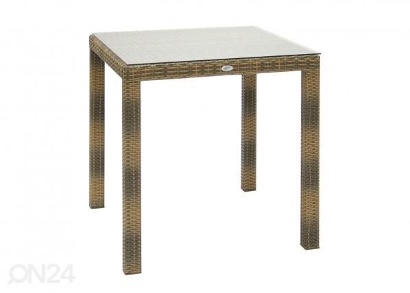 Puutarhapöytä WICKER EV-59388