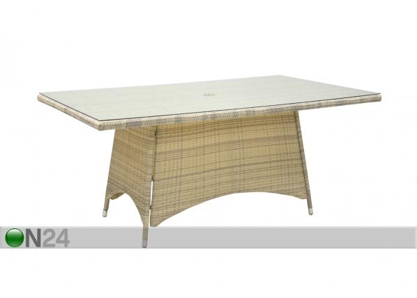 Puutarhapöytä WICKER EV-59397