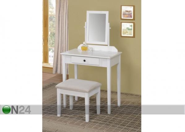 Kampauspöytä + rahi SUSANNA BL-59890