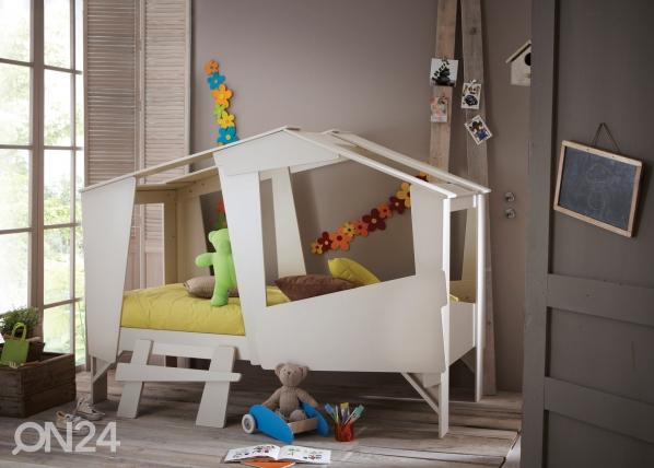 Lastensänky CABANE+patja INTER POCKET 90x200 cm CM-60398