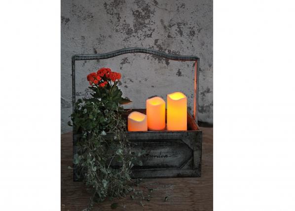 LED kynttilä ajastimella 7,5 cm AA-60477