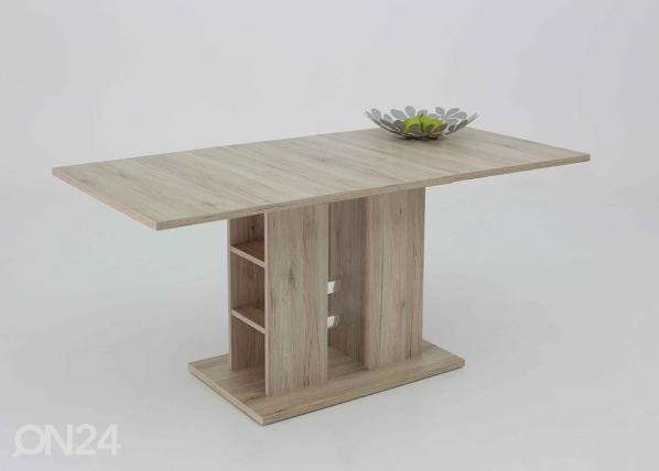 Jatkettava ruokapöytä STEFFI 80x120-160 cm SM-60890