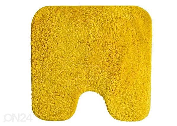 WC-matto SPIRELLA CALIFORNIA keltainen 55x55 cm UR-61311