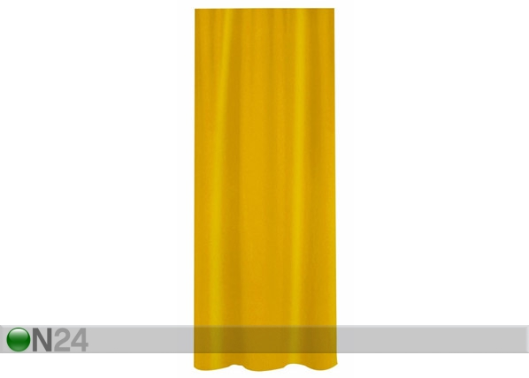 Suihkuverho SPIRELLA PRIMO keltainen tekstiili UR-61365