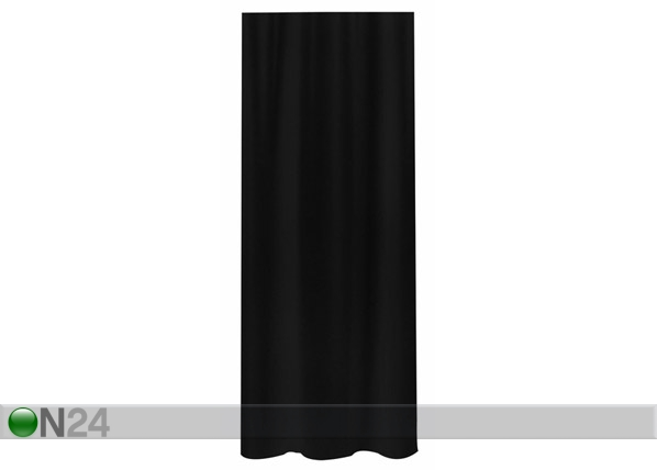 Suihkuverho SPIRELLA PRIMO musta tekstiili UR-61366
