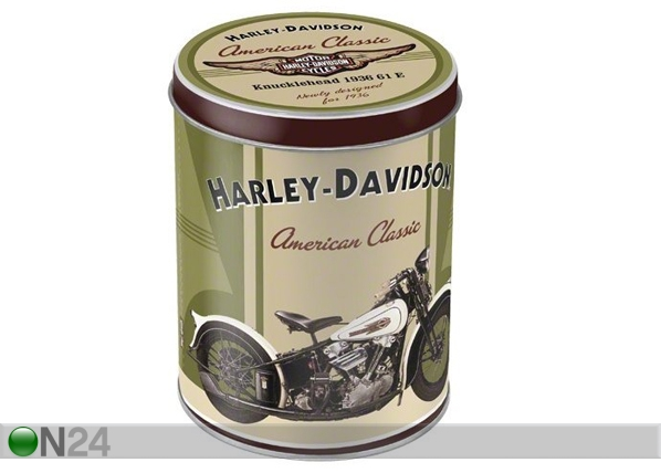 Peltipurkki HARLEY-DAVIDSON AMERICAN CLASSIC 1 L SG-61662