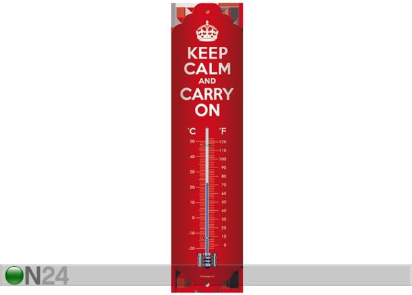 Lämpömittari KEEP CALM AND CARRY ON SG-61807