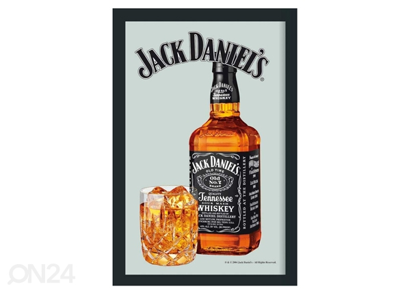 Retrotyylinen mainospeili JACK DANIELS OLD NO. SG-61821