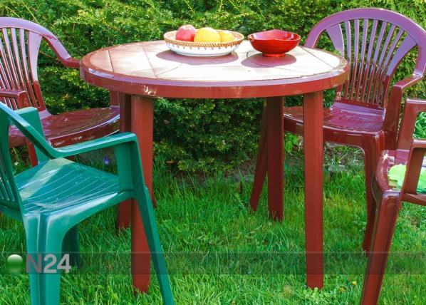 Muovinen puutarhapöytä ZEUS EV-62968