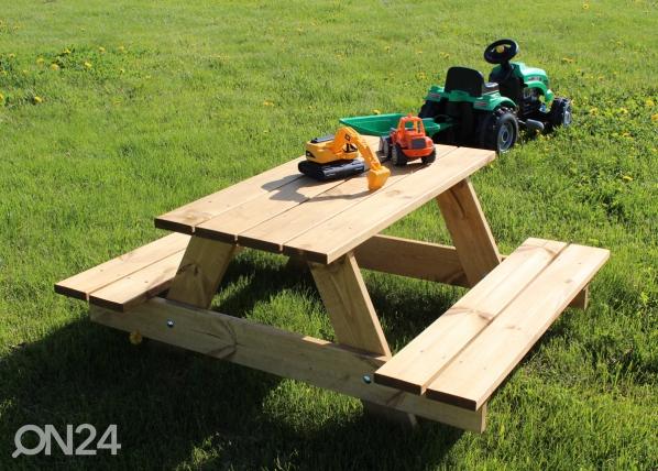 Lasten puinen ulkokalustesetti MP-63910