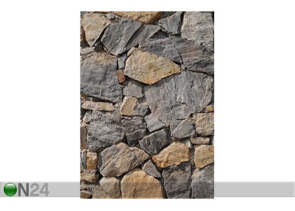 Kuvatapetti WALL OF GRANITE 200x280 cm ED-64899