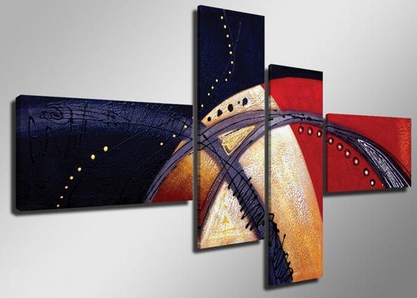 Neljäosainen seinätaulu MIELIALA ED-66694