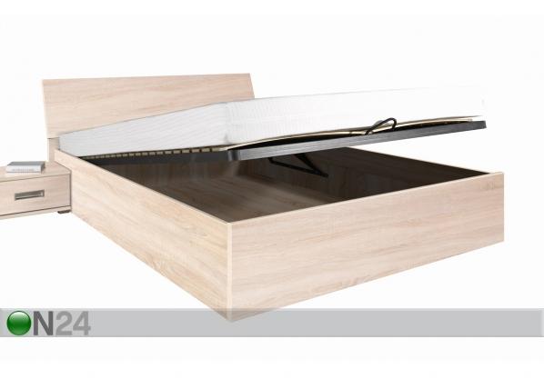 Sänky+vuodevaatelaatikko PENELOPA 140x200 cm RM-66779
