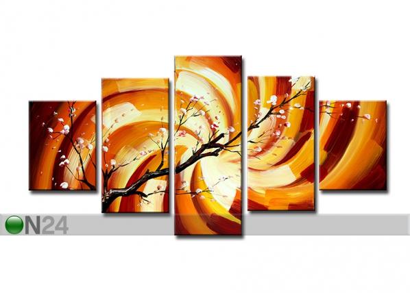 Viisiosainen seinätaulu OKSA ED-67201