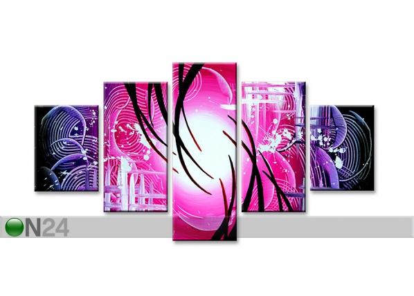 Viisiosainen seinätaulu ABSTRAKT ED-67216