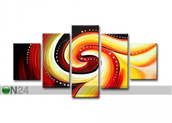 Viisiosainen seinätaulu ABSTRAKT ED-67227