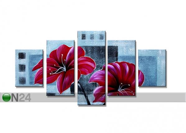 Viisiosainen seinätaulu KUKAT ED-67245