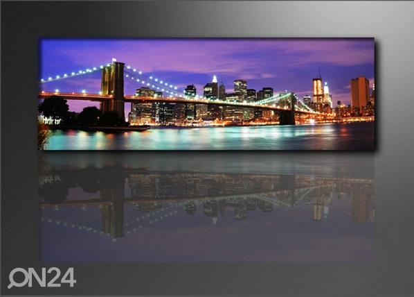Seinätaulu NEW YORK 120x40 cm ED-67530
