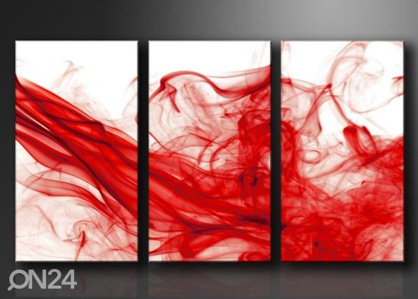 Kolmeosainen seinätaulu SAVU ED-67573