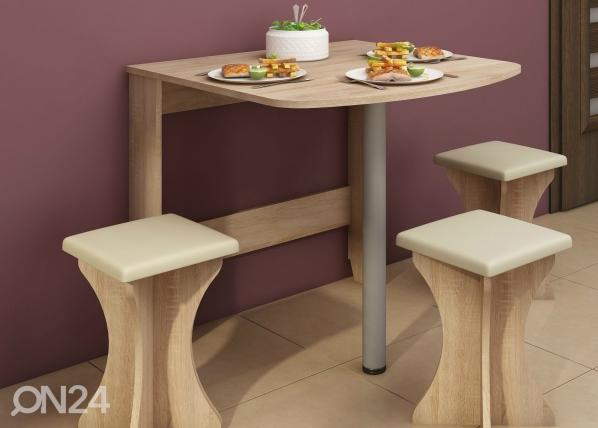 Klaffipöytä 80x81 cm TF-67823