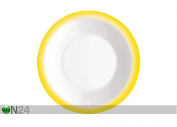Keittolautanen PERFORMA Ø23 keltainen 3 kpl ÄR-67910