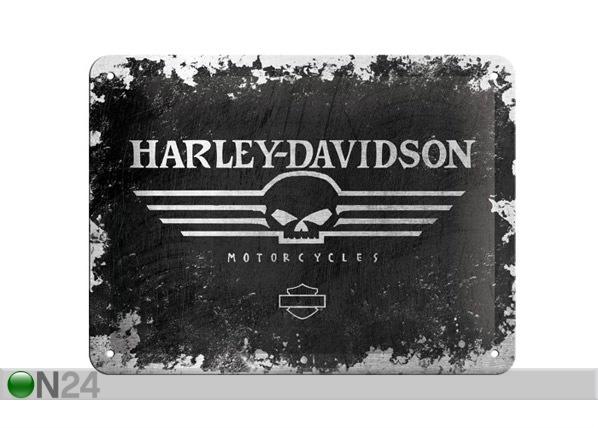 Retrotyylinen metallijuliste HARLEY-DAVIDSON 15x20 cm SG-68144