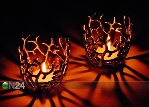 Kynttiläalusta HARVEST, kulta A5-69357