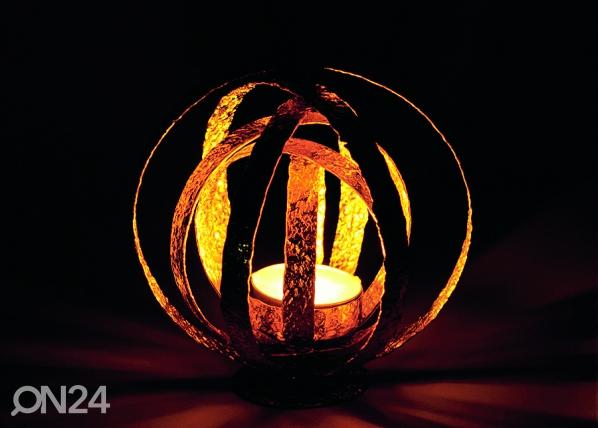 Kynttiläalusta CRUMPLED, kulta A5-69360