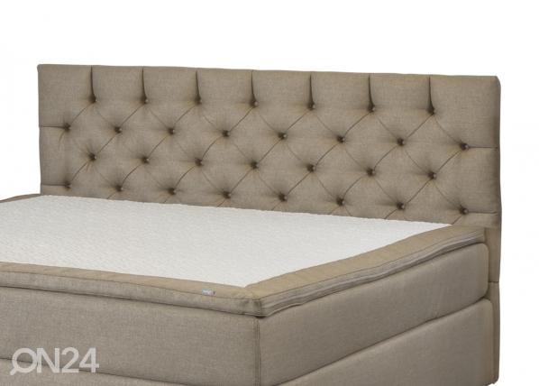Kangasverhoiltu sängynpääty CHESTERFIELD 186x112x12 cm FR-69523