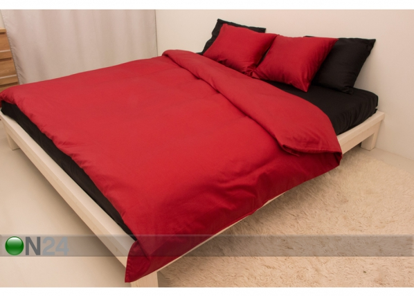 Vuodevaatesetti RED-BLACK 150x210 cm AN-69965