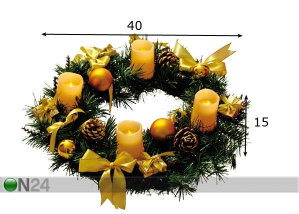 Pöytäkoriste 40 cm AA-70013
