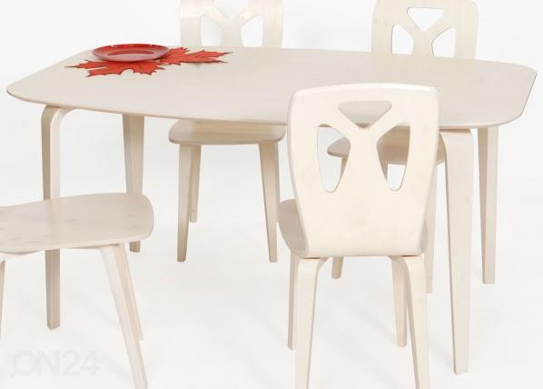 Ruokapöytä KARJALA 95x150 cm TO-70359
