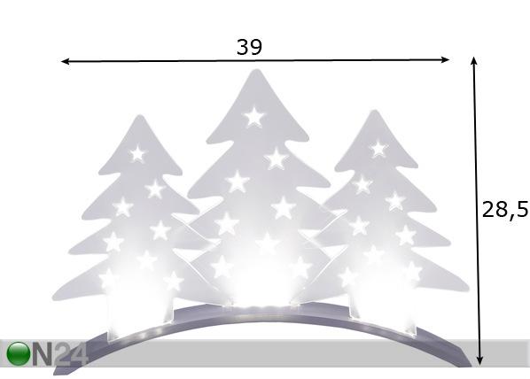 Joulukoriste PLEXI AA-70461