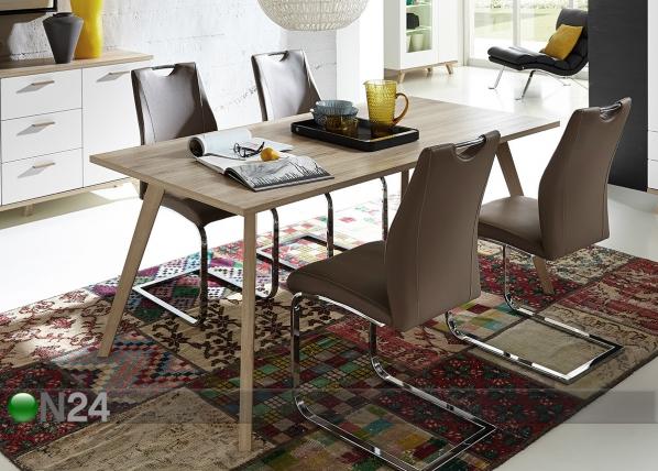 Ruokapöytä OSLO 90x180 cm SM-71725