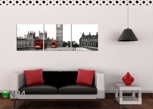 Seinätaulu LONDON 60x180 cm QA-72089