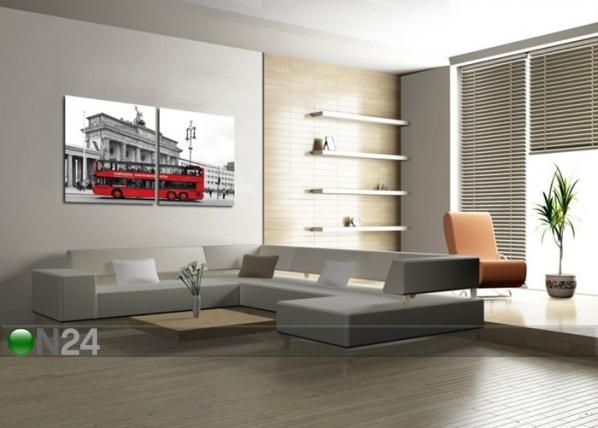 Seinätaulu BUS 70x140 cm QA-72095