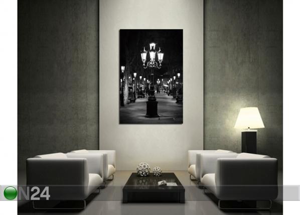 Seinätaulu LATERN 120x80 cm QA-72098