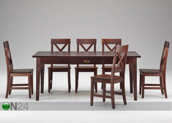 Ruokapöytä MONACO 85x185 cm LS-72265