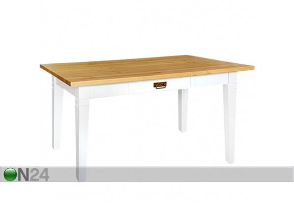 Ruokapöytä MONACO, mänty 85x130 cm LS-72274