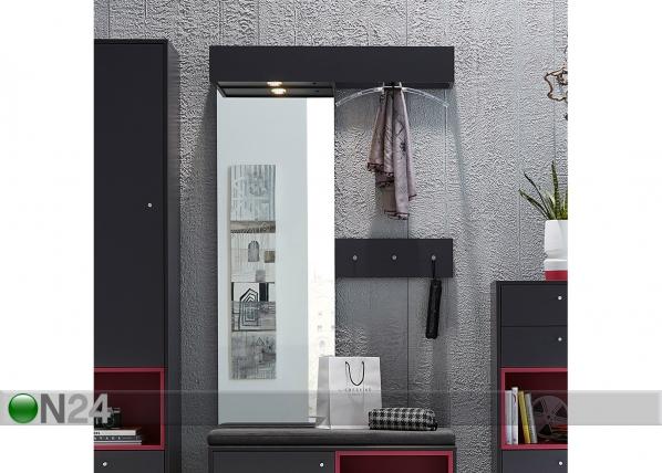 Seinänaulakko peilillä TURIN SM-72316