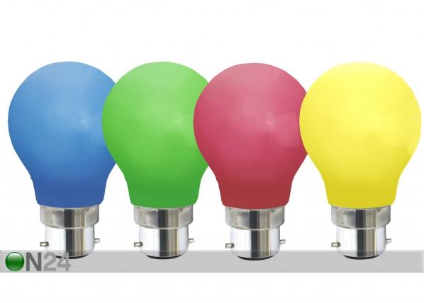 Dekoratiivinen muovinen LED-lamppu valoketjuun AA-72940
