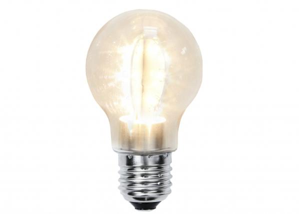 Dekoratiivinen muovinen LED-lamppu valoketjuun AA-73060