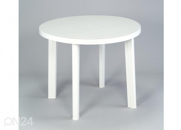 Muovinen puutarhapöytä TONDO SI-74060