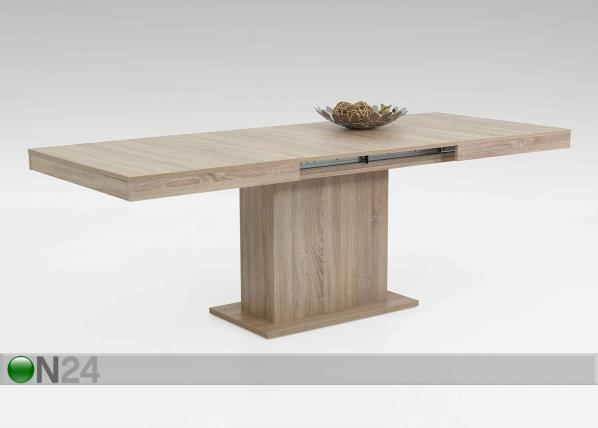 Jatkettava ruokapöytä SCARLET 90x140-220 cm SM-74093