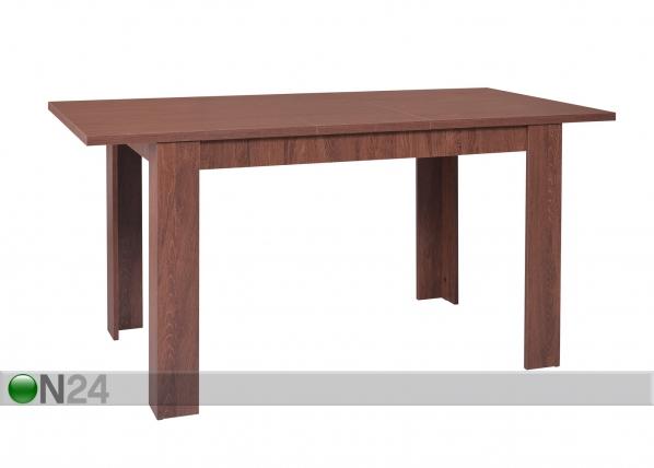 Jatkettava ruokapöytä STANDARD 80x120-153 cm AQ-74517