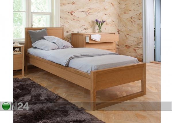 Sänky NewEst BED SINGLE 90x200 cm WO-74567
