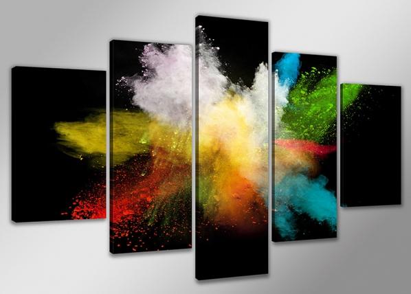 Viisiosainen seinätaulu VÄRIT 200x100 cm ED-75057