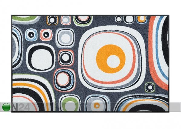 Matto BUBBLES 75x120 cm A5-75112